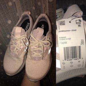 Adidas Purebounce+ Street Shoes in Light Pink NWT